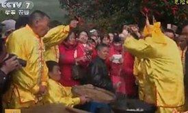 龙岩新春年俗上央视 绝技惊艳全国