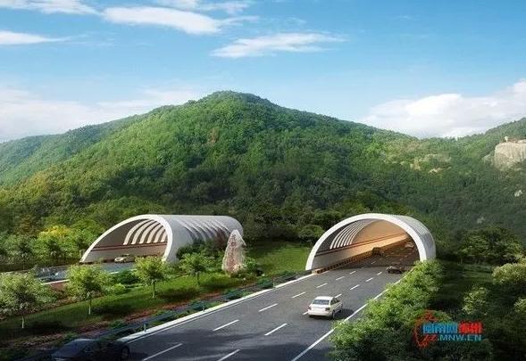 九龙岭隧道漳浦段进洞施工 明年通车后啥样