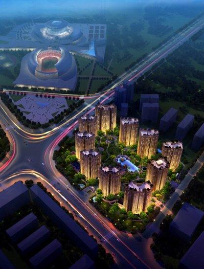 永翌上尚城售楼中心 将于6月16日开放
