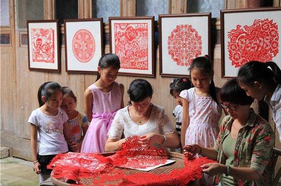 浦城剪纸:金剪生花 雕镂千年时光