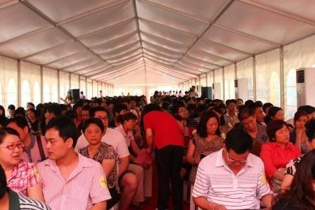 三盛国际公园6月5日开盘热销 印证大城价值