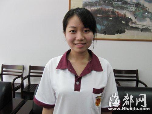 闽南2名女生包揽福建今年高考全省最高分(图)