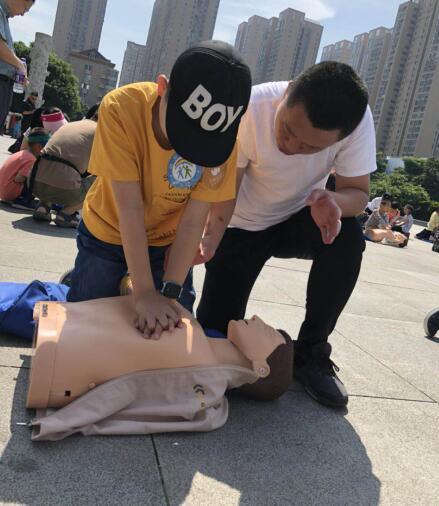 第十个防灾减灾日  福州举行防震逃生急救应急演练