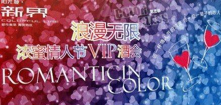 2月13日阳光新界情人节VIP鸡尾酒派对温馨呈现