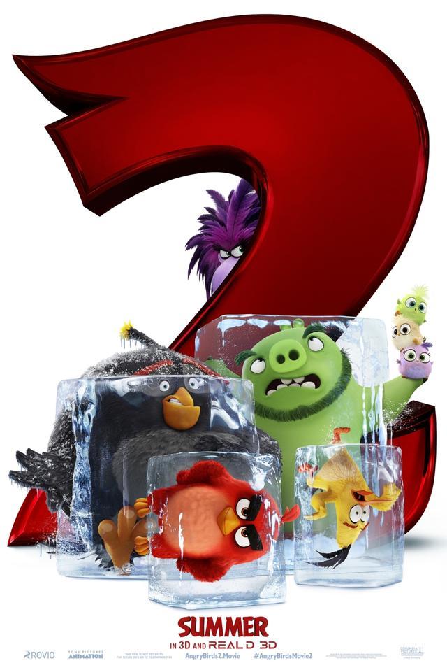 """【《愤怒的小鸟2》发布国际版预告 """"猪鸟联盟""""欢乐集结】图1"""