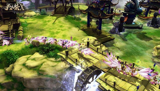 《天之禁X》首测火爆 引领绿色网游2.0的仙侠热潮