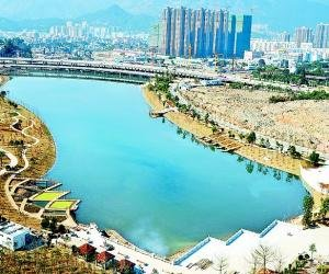 琴亭湖东园元旦前免费开放 面积与左海公园相当