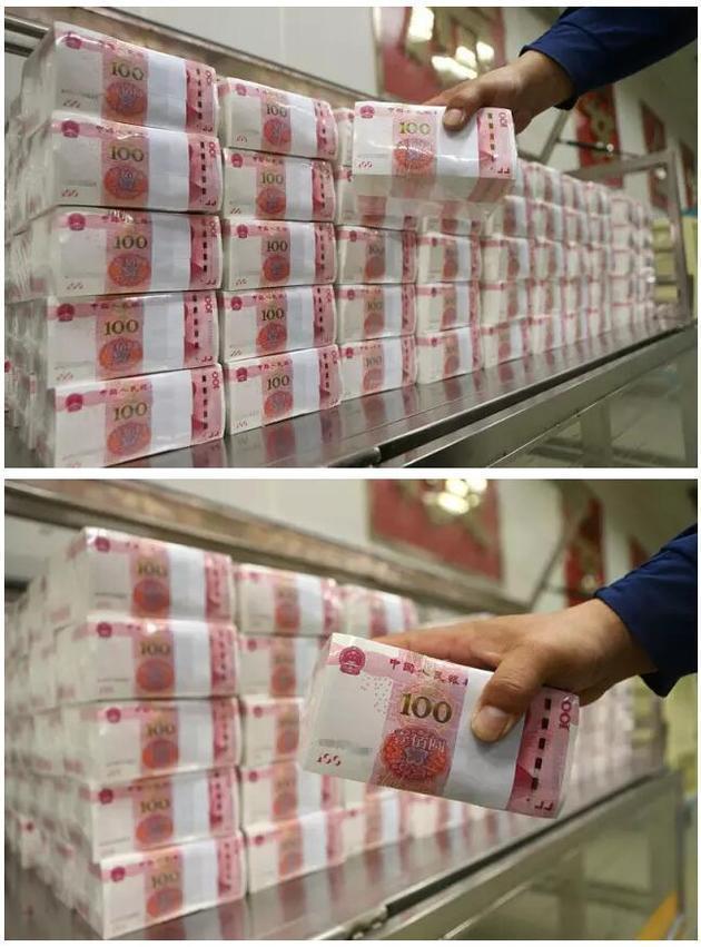 在印钞厂工作的人 用什么心态面对流水线上人民币?