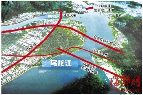琅岐岛规划图