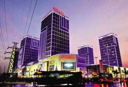 """新商圈崛起 万达、宝龙、东街""""三足鼎立"""""""