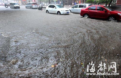 豪雨一场接一场 排涝成了福州迫切的大事