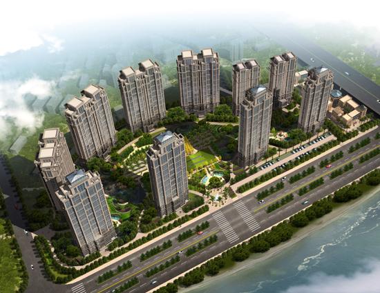 融侨外滩270-300㎡江景大宅 最高优惠50万