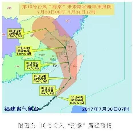 受双台风影响 今起至8月2日龙岩有暴雨到大暴雨