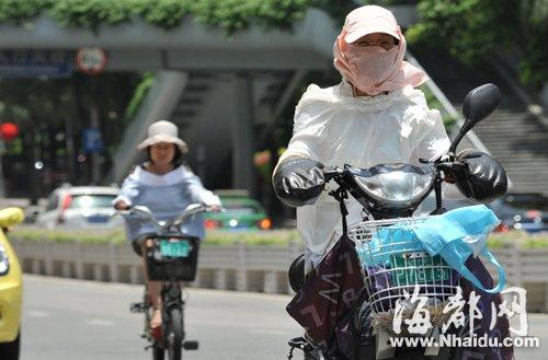福州昨最高温达36.2℃ 今年预计有40个高温天