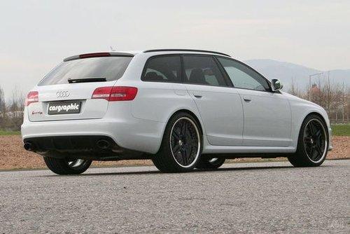 graphic改装奥迪RS6旅行版-奢华的生活态度 4款旅行版轿车改装案例
