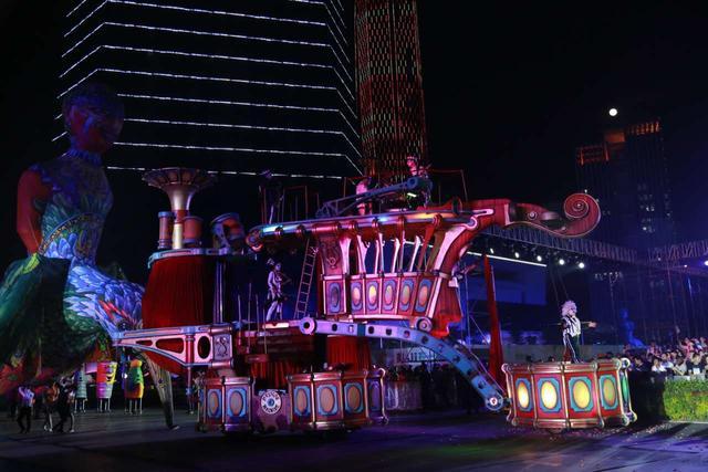 厦门尼斯国际嘉年华上演法式狂欢