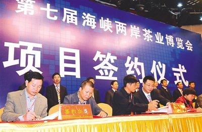 茶博会项目签约成果显著 总投资400余亿元