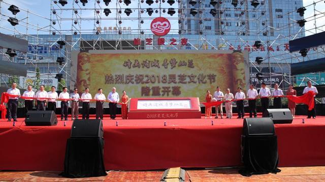 """灵芝文化节助推经济发展 仙芝楼灵芝基地为农民撑起""""致富伞"""""""