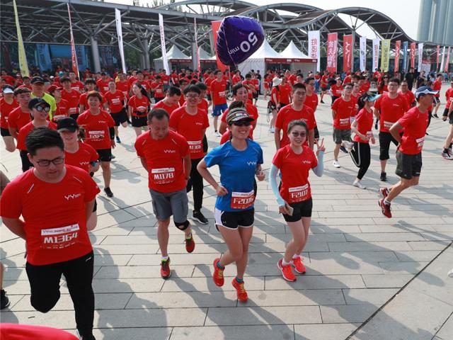 迷你马拉松北京开跑 10公里赛程尽享体育乐趣