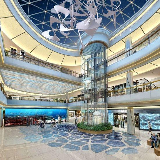 和华巨献经开作 海洋主题性商场 打造商业新模式