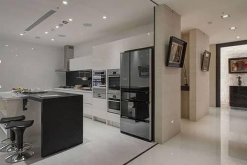 厨房与客厅隔断装修效果图7