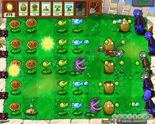 TD类游戏《植物大战僵尸》详细介绍