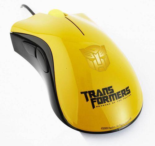 Razer变形金刚限定版鼠标隆重登场