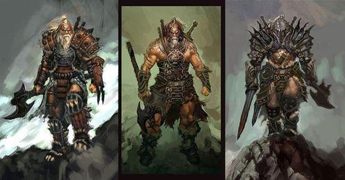《暗黑破坏神3》解析野蛮人大叔系统