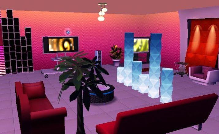 qq炫舞家具展示 涂鸦属于自己的3d房间