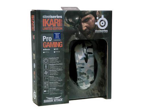 SS IKARI激光突袭限量版鼠标上市