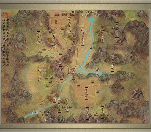 [任务]剑网3扶摇直上NPC分布图——洛道