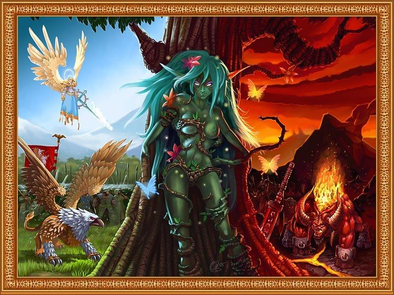 《魔法门之英雄无敌5》壁纸原画欣赏 游戏