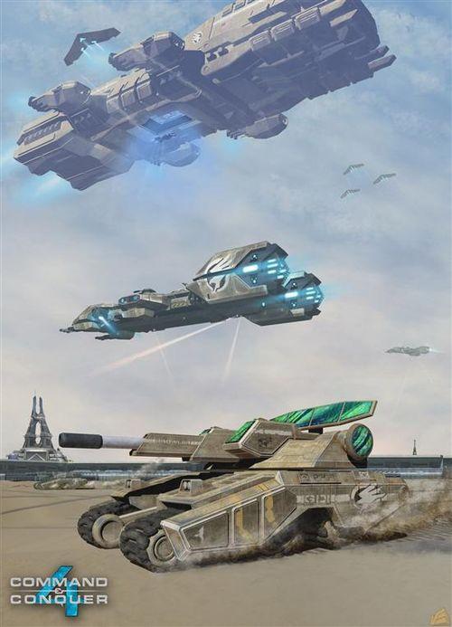 《命令与征服4》艺术概念图
