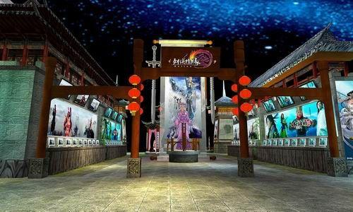 [美女]09年CJ剑网3展台与showgirl全面曝光