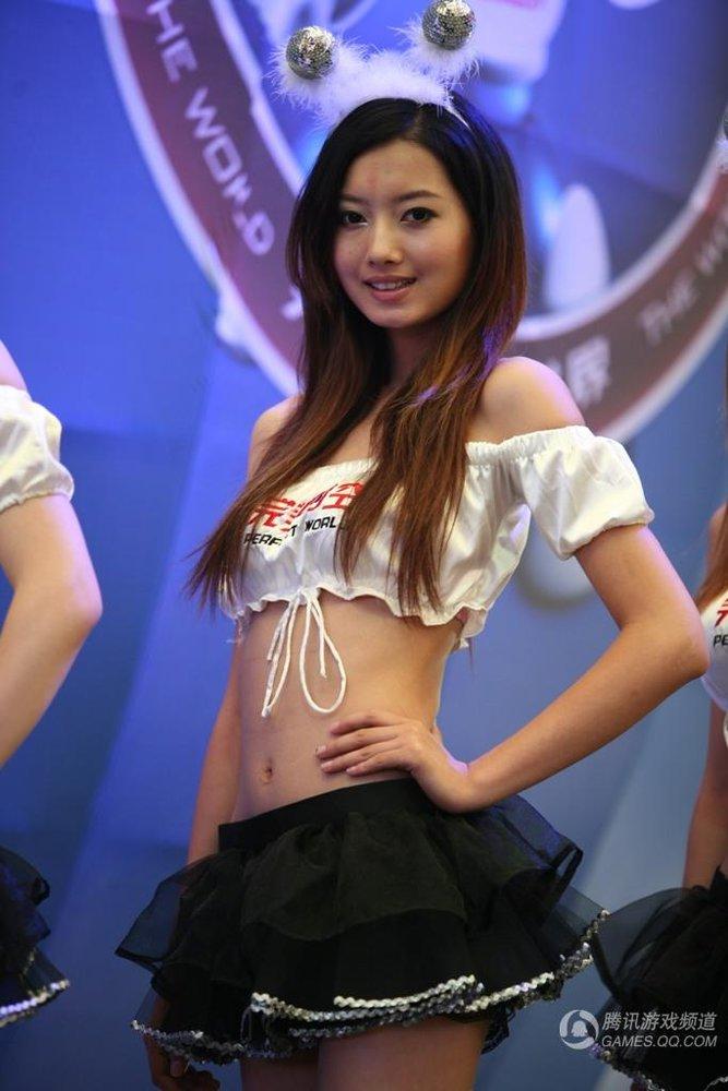 chinajoy美女:性感迷人pp裙女
