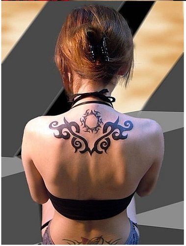 ava游戏美女纹身大观让你瞧