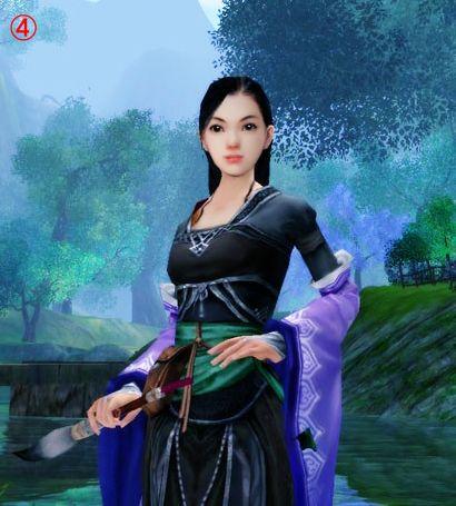 [技巧]PS教程:剑3简单的游戏图片美化教学