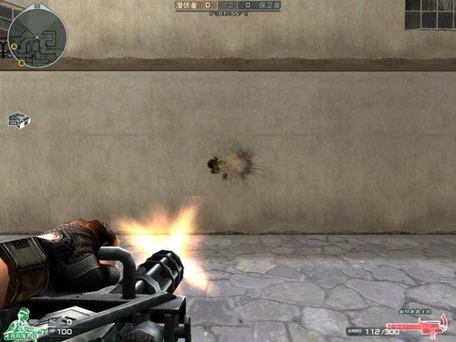 穿越火线:加特林重机枪横扫火线世界