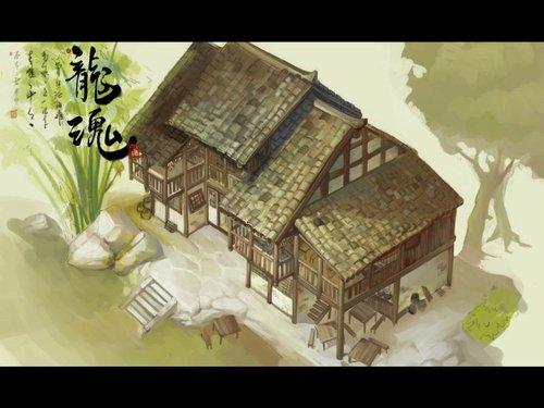 《龙魂》精美原画壁纸欣赏 建筑篇