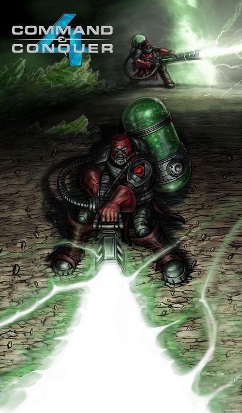 《命令与征服4》游戏画面及设定图放出