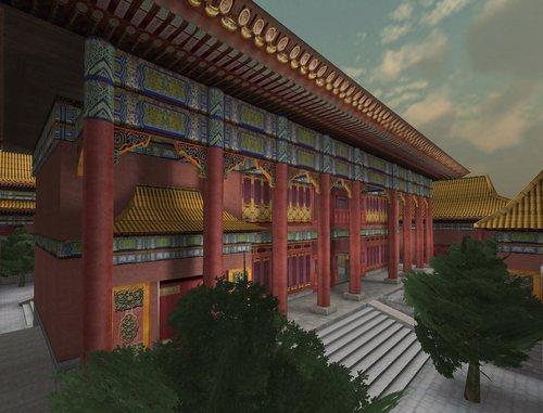 韩服《穿越火线》添加新地图:中国皇宫_游戏图