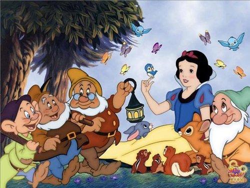 《梦幻迪士尼》白雪公主式的动作设计