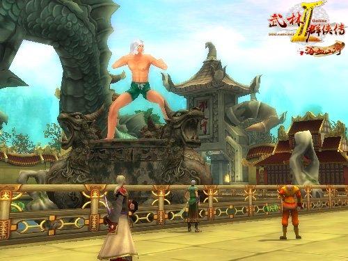 《武林群侠传2》盟主雕像奇观大赏