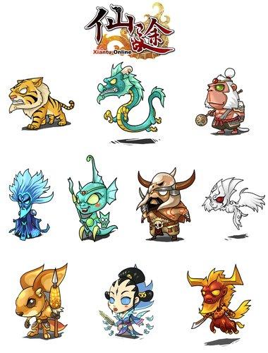 《仙途》幻兽系统第三代幻兽