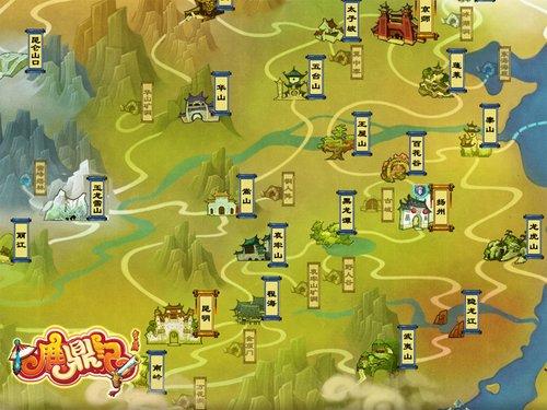 扬州市景点地图