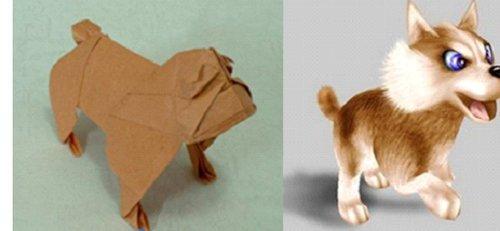 动物折纸步骤图解大全