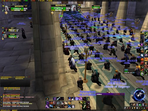 玩家集体悼念因病逝世的战友:感动2区塞纳里奥