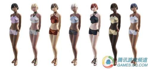 《最终幻想14》男女人物建模截图曝光