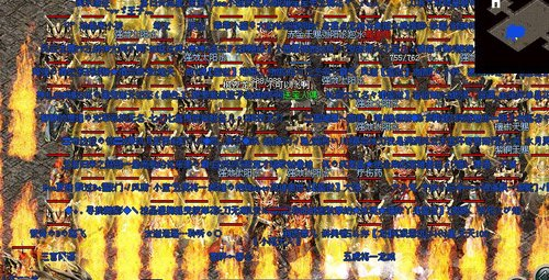 最热血激战《传奇归来》新版战场揭秘