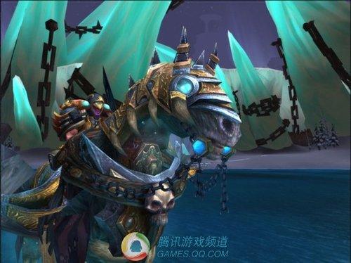 魔兽世界巫妖王坐骑无敌最新截图曝光